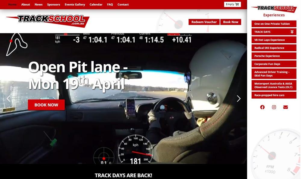 Car event site uses Rezdy booking sytem